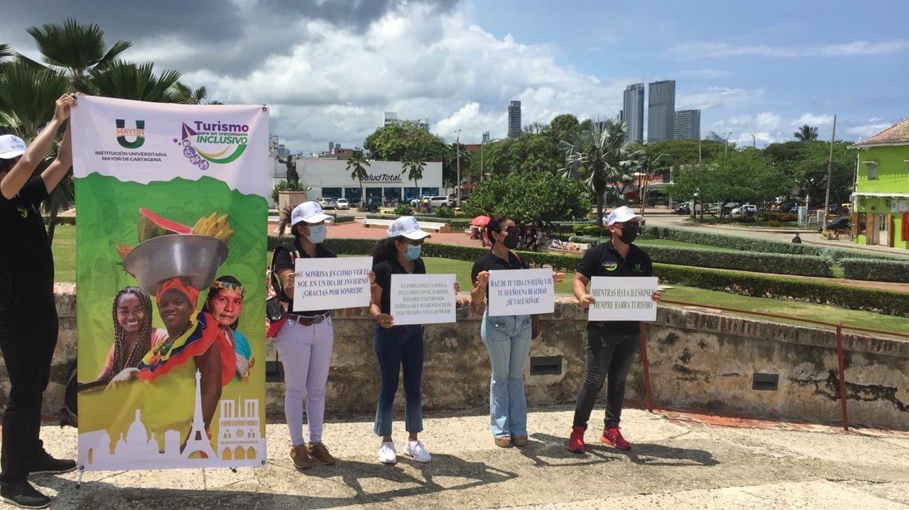 Grupo de Participantes en Turismo inclusivo