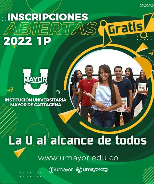 Inscripciones Gratis Umayor Cartagena 2022 1P
